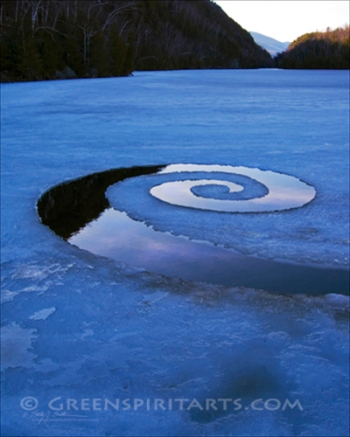 GreenSpirit Arts - Chapel Pond Spiral