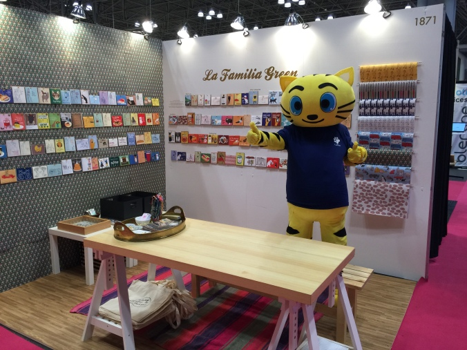 CMYKat at the 2015 Stationery Show!