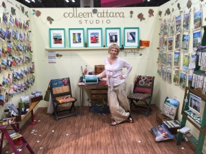 Colleen Attara at the National Stationery Show