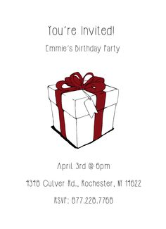 CatPrint Birthday Party Invitation Template Gallery Design #260