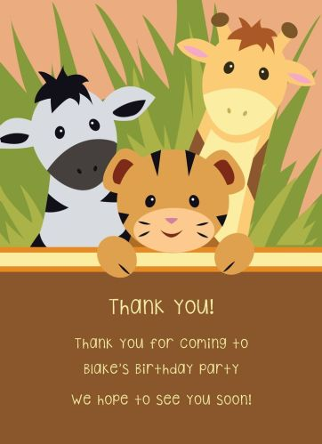 CatPrint Thank You Card Design #275