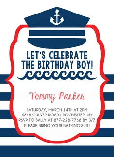 Birthday Party Invitation CatPrint Design #312