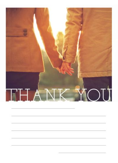 CatPrint Thank You Card Design #467