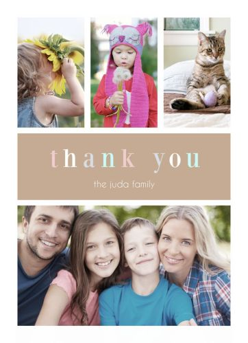 CatPrint Thank You Card Design #475
