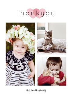 CatPrint Thank You Card Design #480