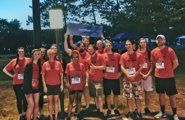 2015 CatPrint Corporate Challenge Team