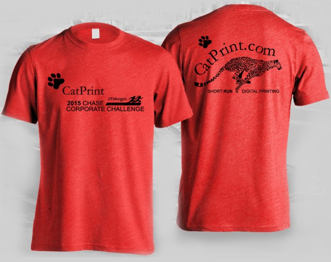 2015 catprint corporate challenge t shirt design
