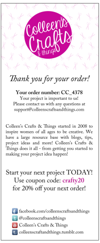Colleen's Crafts and things