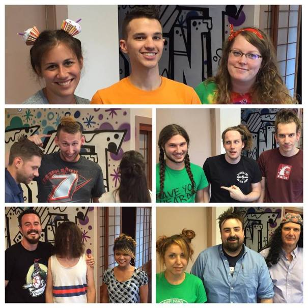 CatPrint Spirit Week 2015 Crazy Hair Day