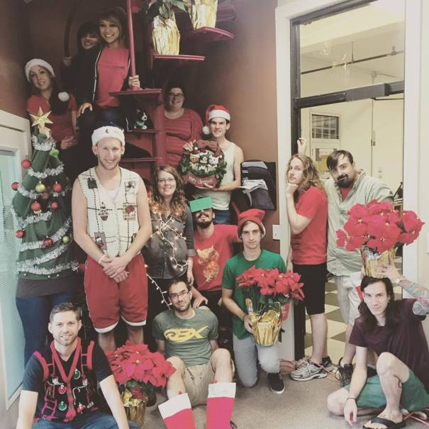 CatPrint Spirit Week 2015 Christmas