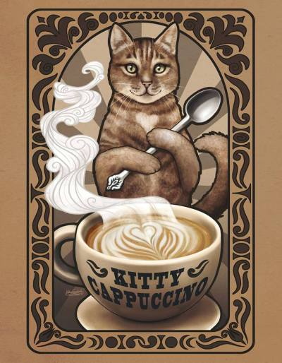 Kitty Cappuccino by Kamakru